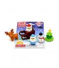 Iwako Puzzle Eraser - Christmas - (Gomas de borrar con diseños) Hecho en Japón