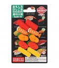 Iwako Puzzle Eraser - Sushi 10 - (Made in Japan)