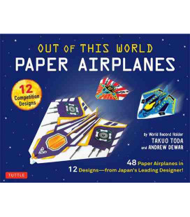 Out of This World Paper Airplanes Kit