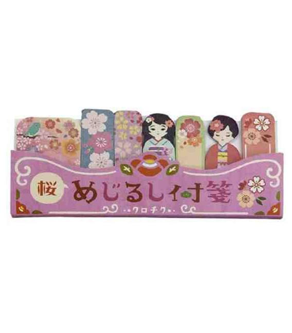 Marcadores adhesivos Kurochiku (Kyoto, Japón)- Modelo Sakura