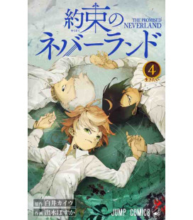 Yakusoku no nebarando (Promised Neverland) Vol. 4