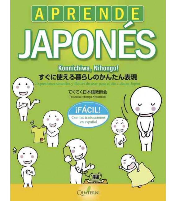 Aprende japonés fácil. Konnichiwa, Nihongo!