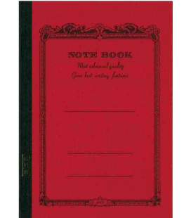 Apica CD15-RN Notebook (Tamaño B5 - Color rojo - 68 páginas)