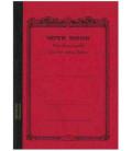 Apica CD11-RN Notebook (Tamaño A5 - color rojo - 56 páginas)