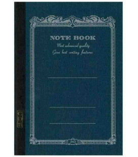 Apica CD11-NV Notebook (Tamaño A5 - color azul marino - 56 páginas)