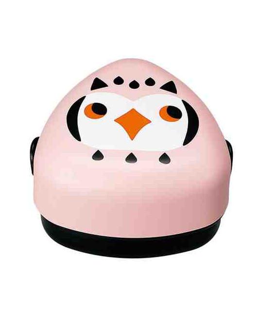 Hakoya Kotoritachi Bento - Modelo 52689- 9 (Búho) - Color rosa