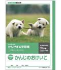 Cuadernillo Kyokuto para práctica de escritura de los Kanji - 84 kanjis por página