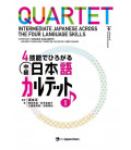 Quartet - Intermediate Japanese Across the Four Language Skills (Incluye audio en Web)