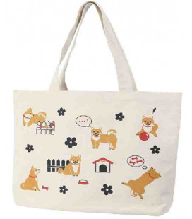 Bolso japonés Kurochiku - Modelo Perros - 100% algodón