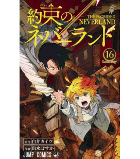 Yakusoku no nebarando (Promised Neverland) Vol. 16