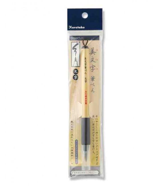 Rotulador - Fude Pen - Kuretake Bimoji de punta gruesa y rígida - Modelo XT4-10S