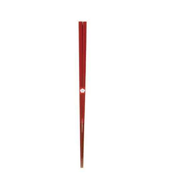 Palillos tradicionales japoneses Kawai - Color Kodaishu (Bermellón)