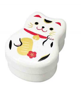 Hakoya Maruko Bento - Modelo 50820 - Gato blanco