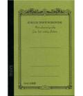 Apica CG53-MG Notebook (Tamaño A5 - Color verde caqui - Pauta cuadriculada - 104 páginas)