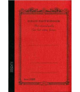 Apica CG53-VE Notebook (Tamaño A5 - Color naranja - Pauta cuadriculada - 104 páginas)