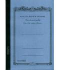 Apica CG53-BL Notebook (Tamaño A5 - Color azul claro - Pauta cuadriculada - 104 páginas)