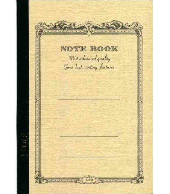 Apica CD11 Notebook (Tamaño A5 - Color beige - Pauta rayada - 56 páginas)
