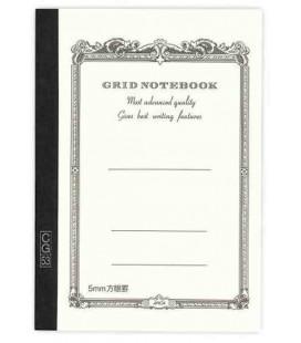 Apica CG54 - Notebook (Tamaño B6 - Color blanco- Pauta cuadriculada - 104 páginas)