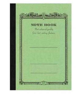 Apica CD20 - Notebook (Tamanho B6 - Capa verde claro - Pautado - 64 folhas)