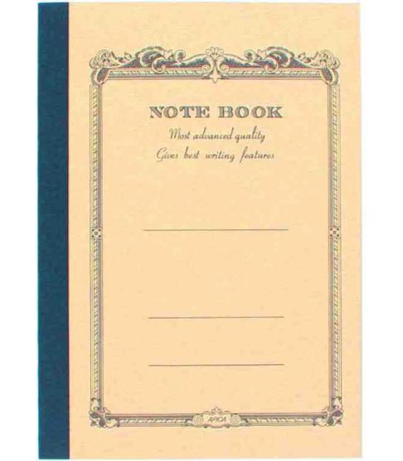 Apica CD10 Notebook (Tamaño A6 - Color beige - Pauta rayada - 104 páginas)