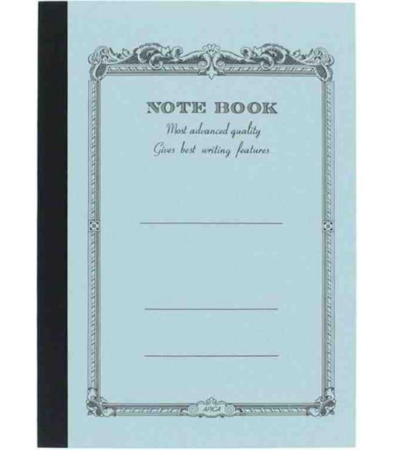 Apica CD10 Notebook (Tamaño A6 - Color azul claro - Pauta rayada - 104 páginas)