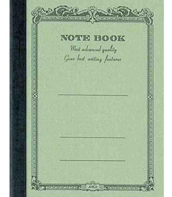 Apica CD10 Notebook (Tamaño A6 - Color verde claro - Pauta rayada - 104 páginas)