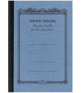 Apica CD8 - Notebook (Tamaño B7 - Color azul claro - Pauta rayada - 72 páginas)