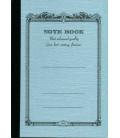 Apica CD8 - Notebook (Tamaño B7 - Color azul celeste - Pauta rayada - 72 páginas)