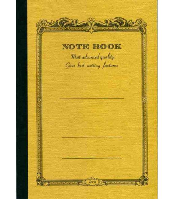 Apica CD20 - Notebook (Tamaño B6 - Color amarillo maiz - Pauta rayada - 64 páginas)