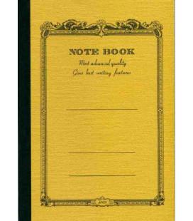 Apica CD20 - Notebook (Tamanho B6 - Capa amarelo milho - Pautado - 64 folhas)