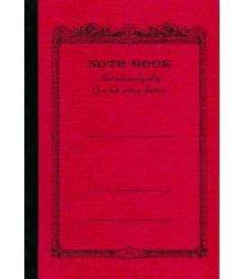 Apica CD20 - Notebook (Tamanho B6 - Capa vermelha - Pautado - 64 folhas)