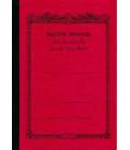 Apica CD20 - Notebook (Tamaño B6 - Color rojo - Pauta rayada - 64 páginas)