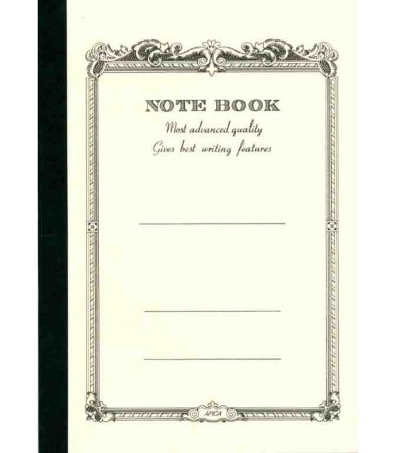 Apica CD20 - Notebook (Tamaño B6 - Color blanco - Pauta rayada - 64 páginas)