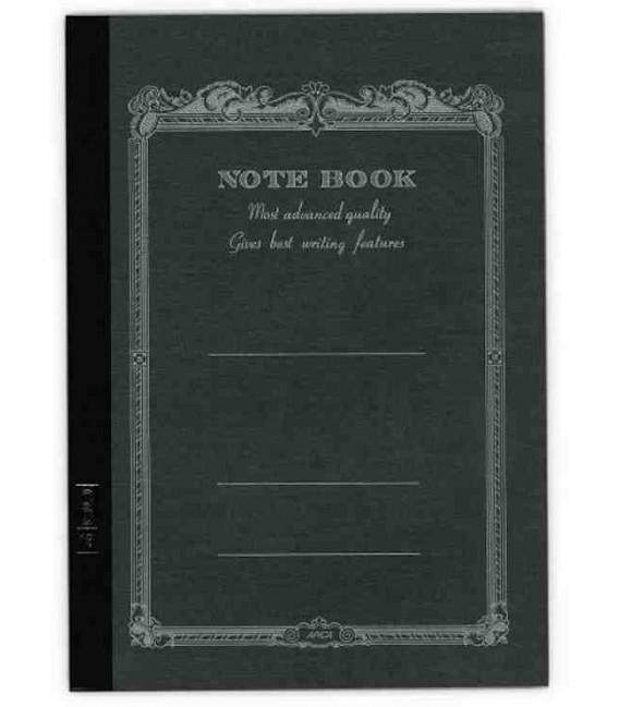 Apica CD20 - Notebook (Tamaño B6 - Color negro - Pauta rayada - 64 páginas)