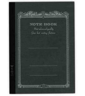 Apica CD20 - Notebook (Tamanho B6 - Capa negra - Pautado - 64 folhas)