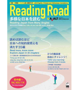Reading Road - Reading Japan from Many Angles (Lecturas de niveles 3 y 4 de Noken)