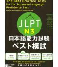 The Best Practice Tests for the Japanese-Language Proficiency Test N3 (Incluye descarga de audio)