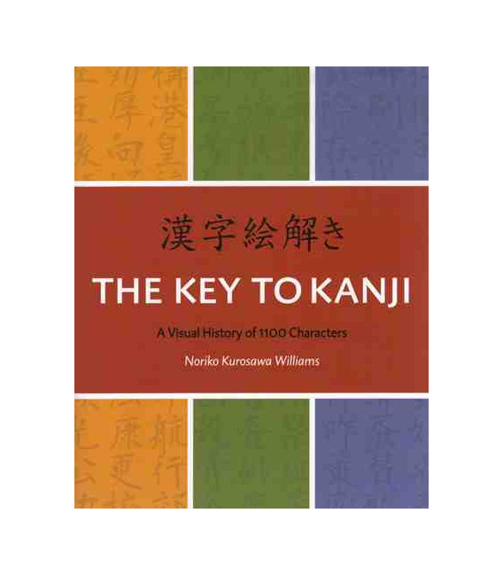 The Key to Kanji. A Visual History of 1100 Characters