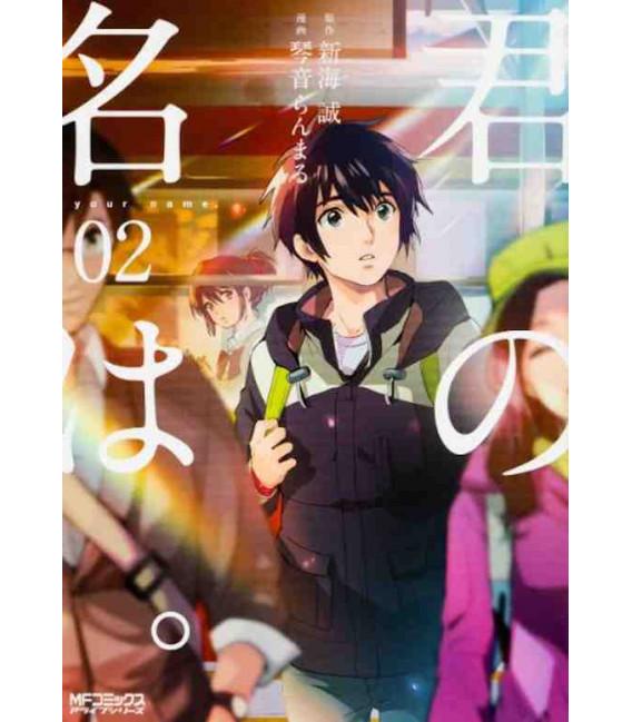 Kimi no na wa Vol. 2 - Versión Manga - Edición en japonés