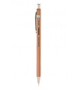 Bolígrafo Japonés Sierra (Carcasa madera de cedro) - Tinta Negra - Tamaño L - Color natural