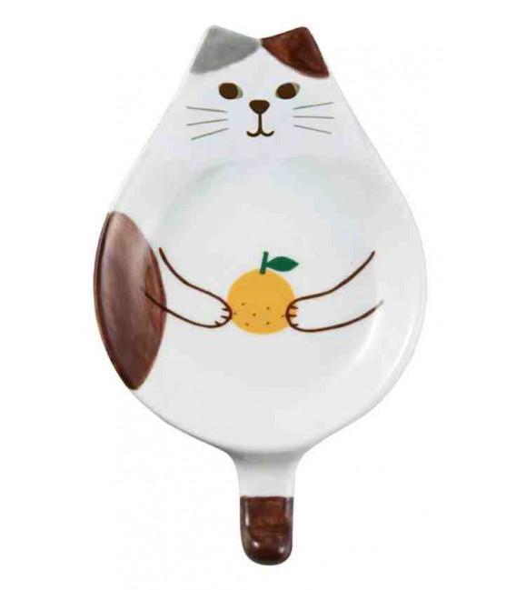 Decole - Happy cat plate