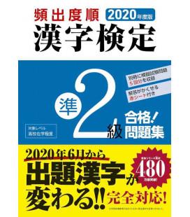 2020 Kanken Kako Mondaishu Jun 2 Kyu - Ejercicios para Kanken nivel Pre 2 - Edición 2020