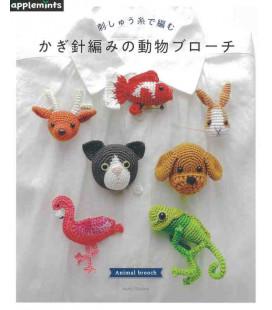 Animal Brooch - Incluye 63 diseños