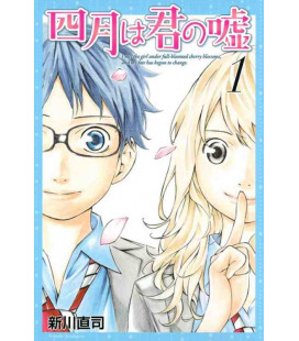 Shigatsu wa Kimi no Uso - Your Lie in April - Vol. 1