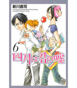 Shigatsu wa Kimi no Uso - Your Lie in April - Vol. 6