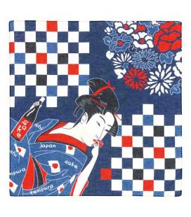 Bandana japonesa Kurochiku - Modelo Bijinga