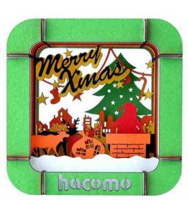Hacomo Box - Tarjeta de regalo tridimensional - Modelo Santa Claus