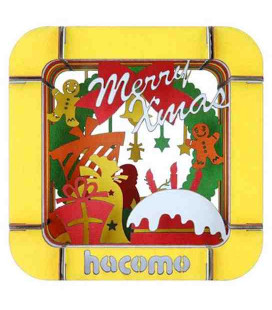 Hacomo Box - Tarjeta de regalo tridimensional - Modelo X'mas Party