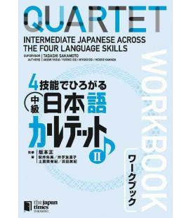 Quartet - Intermediate Japanese Across the Four Language Skills II (Incluye audio en Web)