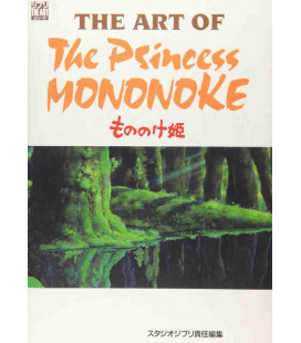 The Art of Princess Mononoke - Libro de ilustraciones de la película